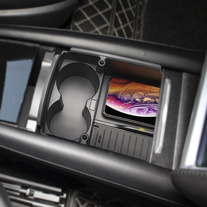 Trådløs lader Tesla Model S & X BeGood