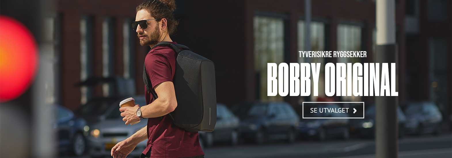 bobby tyverisikker ryggsekk xd design anti theft backpack